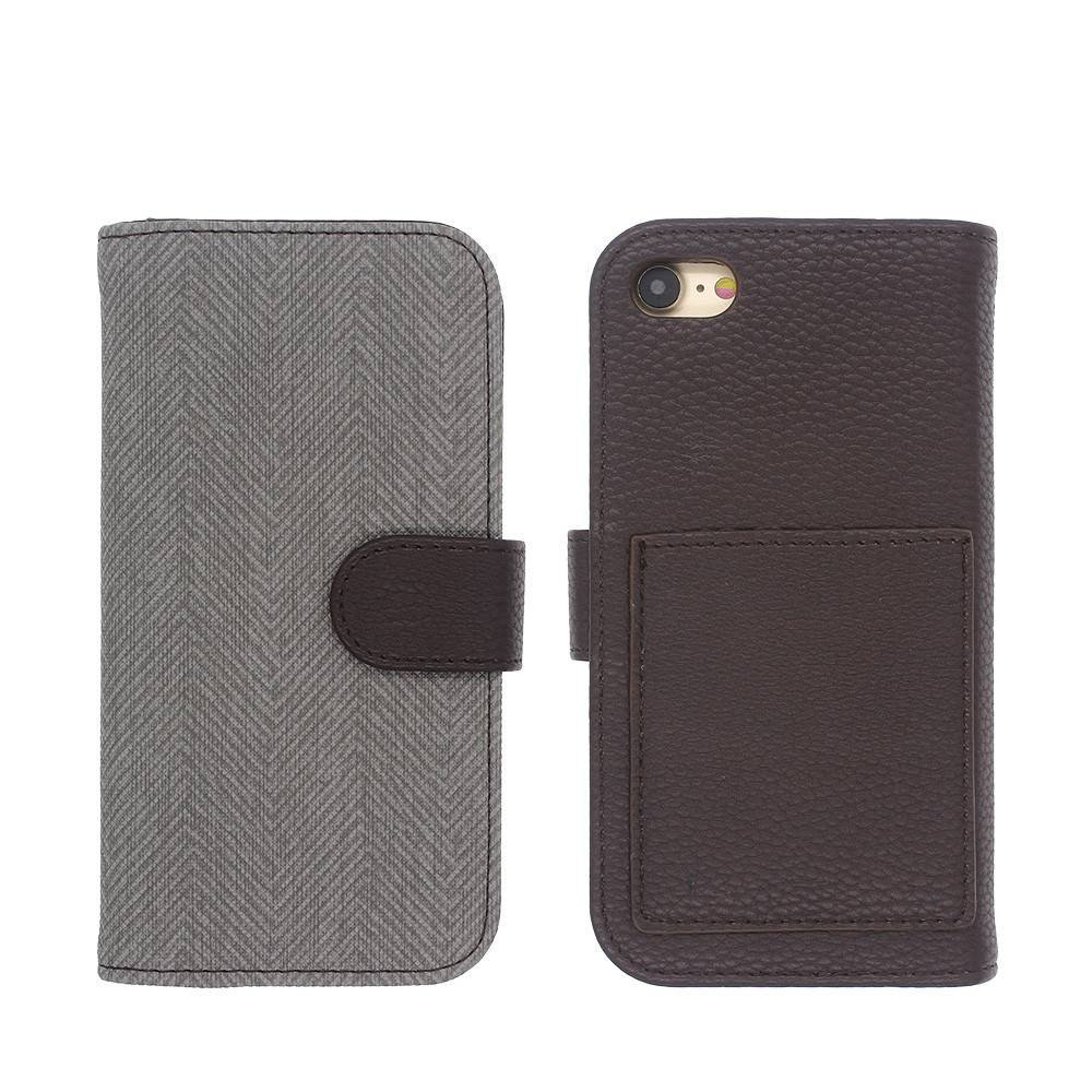 iPhone 7 Wallet Leather Case in Simple Elegant Design