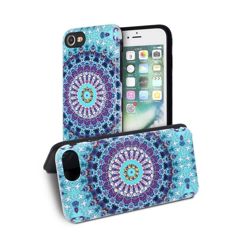 Wholesale Phone Cases for iPhone 7 with Embossed Artworks and Diamonds