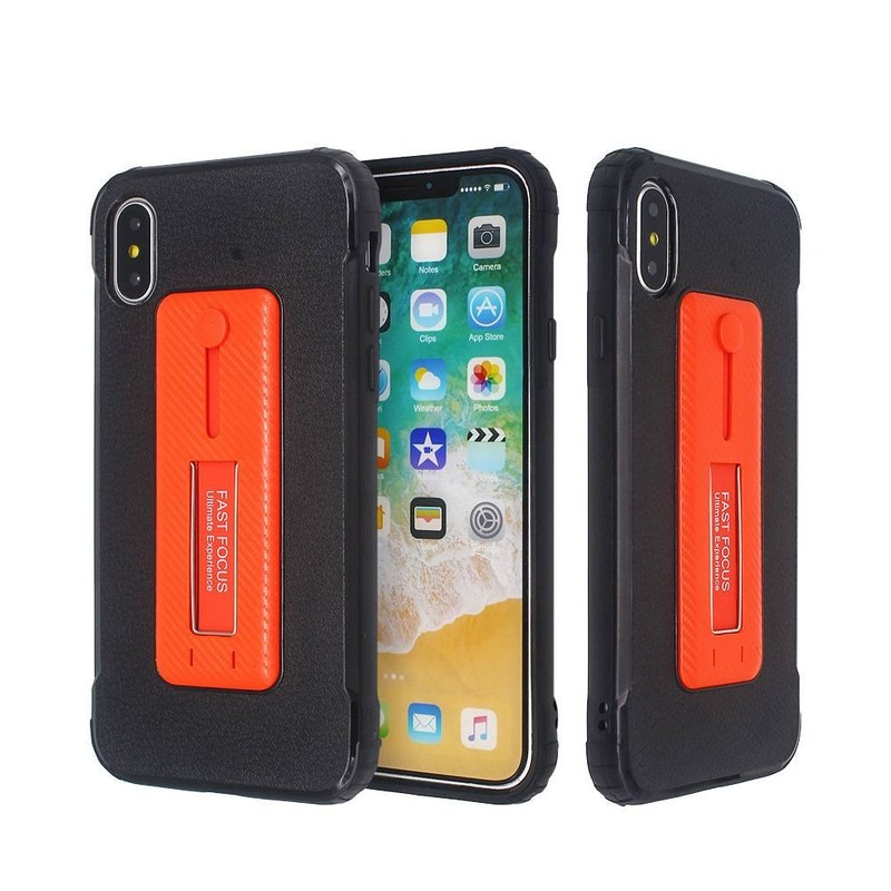 Wholesale IPhone X Protective Case with Kickstand And Ring