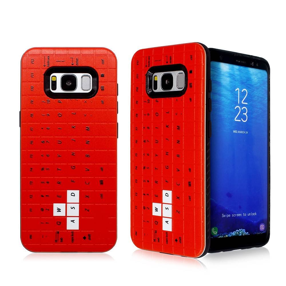 Keyboard Back Cover Samsung S8 Combo Case