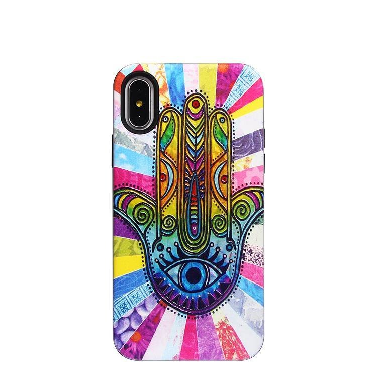 Beautiful Vivid Laser Carving Case Wholesale for IPhone X