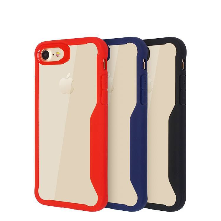 Hybrid Non-Slip Clear Case Cover for iPhone 7