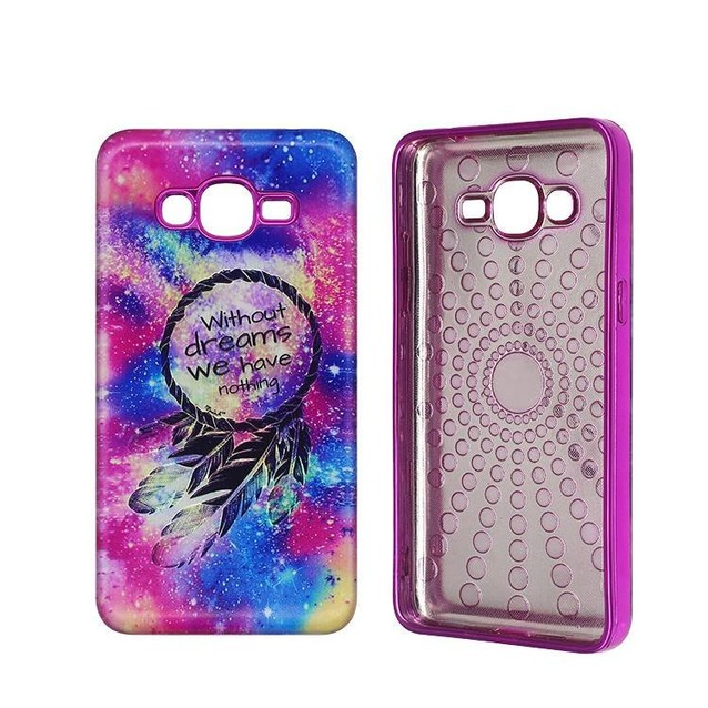 Color Painting and Electronic Plating case for Samsung J2 Prime