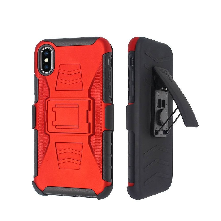 3 in 1 Holster Robot Combo Case For IPhone X Wholesale