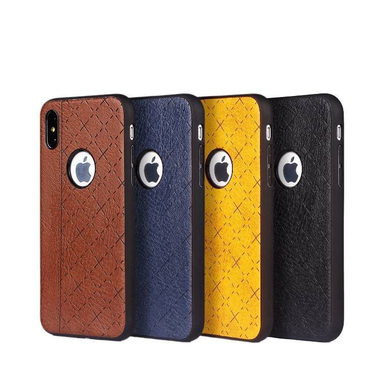 IPhone X Leather Sticker  Case wholesale