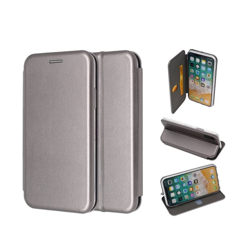 Wallet iPhone X Case with Foldable Cover and Card Holers
