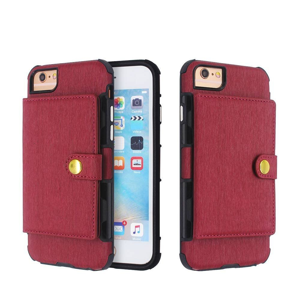 Wallet Leather Phone Case Wholesale for iPhone 8, 7, 6s, 6, & Plus