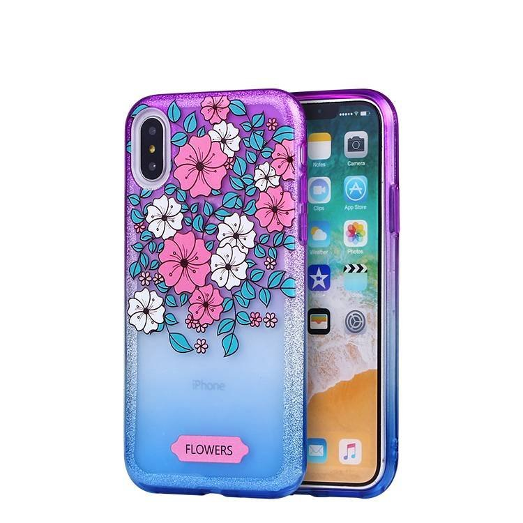 Gradient 2 IN 1  Case for IPhone X Wholesale