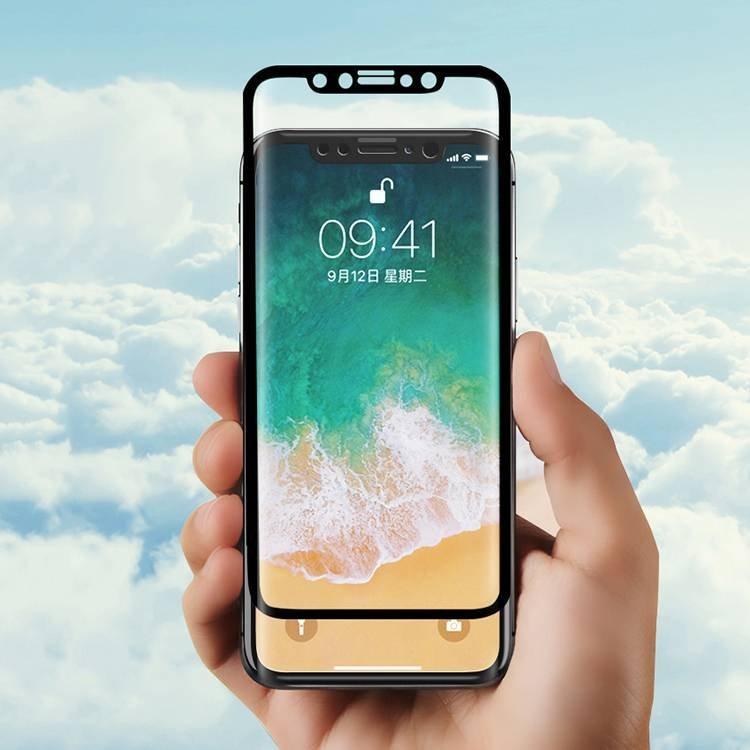 3D Cristal templado curvado de la cubierta completa para IPhone X al por mayor