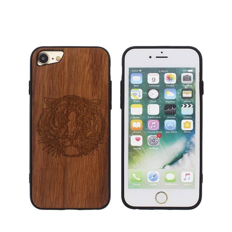 Funda de piel para iPhone 7 - Funda de teléfono exclusiva para iPhone 7
