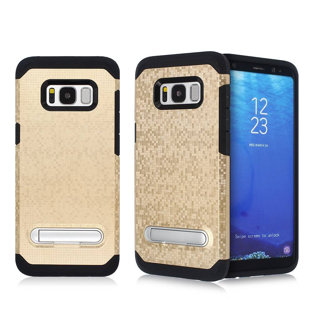 Mosaic Pattern Samsung S8 Combo Case with Kickstand for Wholesale
