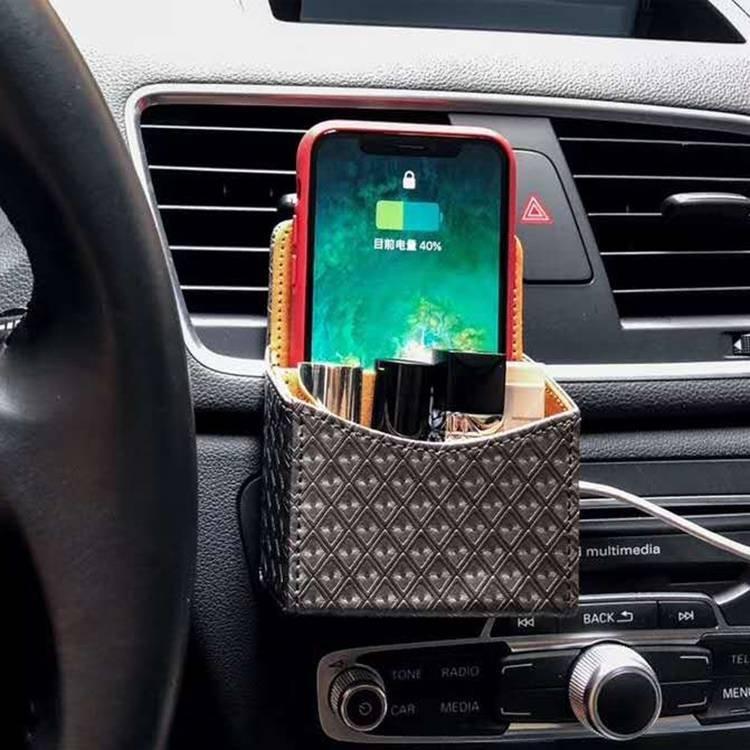 Wireless Charging Car Storage Bag