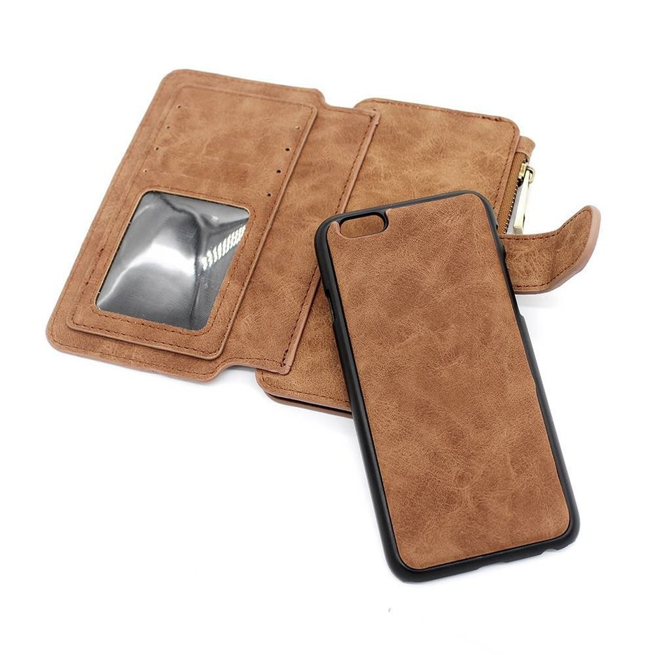 Multi-functional Wallet iPhone 6s Leather Phone Case