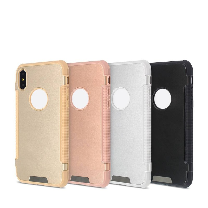 iPhone X Protective Phone Case with Thick TPU Bumper