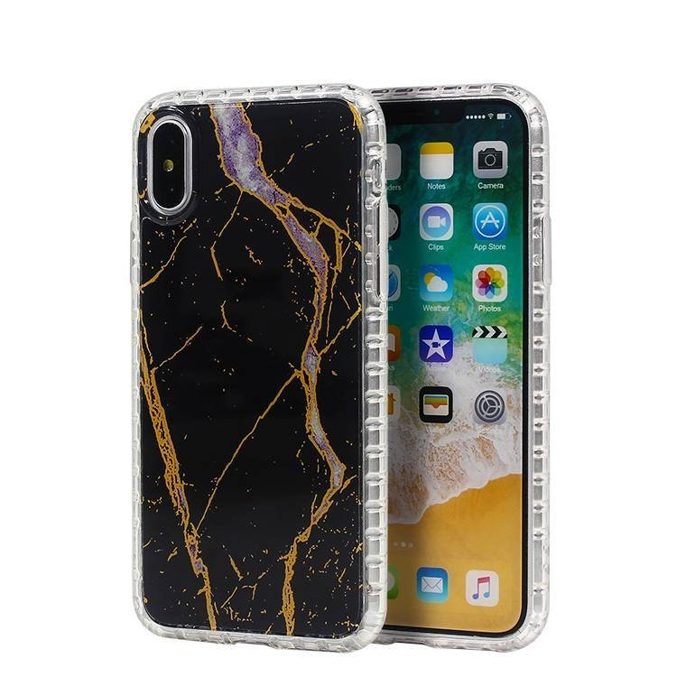 Marble Transparent TPU Clear Case for iPhone X Wholesale