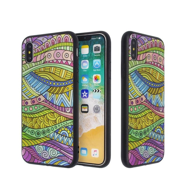 Colorful Plating Case For IPhone X Wholesale