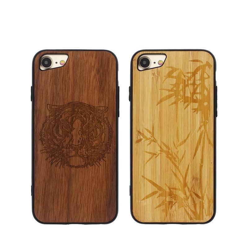 iPhone 7 Wood Case - Unique Phone Case for iPhone 7