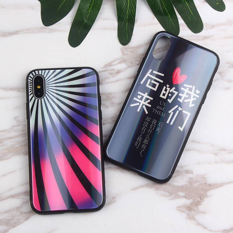 Acrylic Laser Phone Case for IPhone X Wholesale