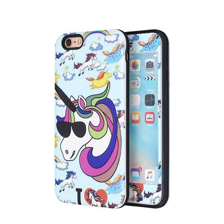 Full body protective Color Painting Case for iPhone 6