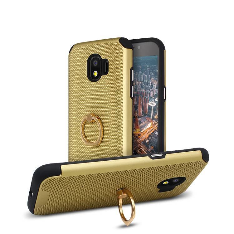 Ring Mesh Kickstand Phone Case for Samsung J2 Pro 2018
