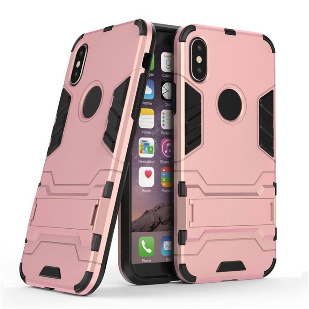 New iPhone X Robotic Phone Case with Kickstand for Wholesale