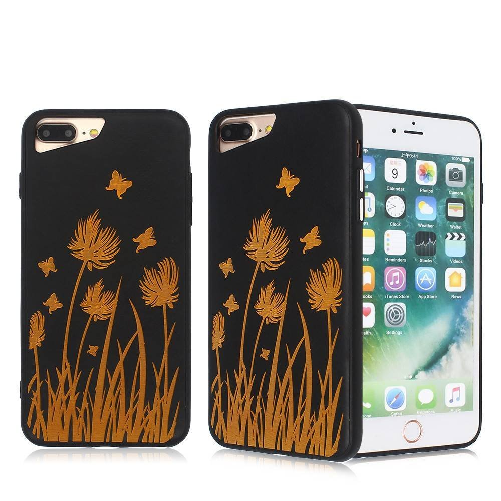 Ultra Slim Laser Carving iPhone 7 Plus TPU Phone Case