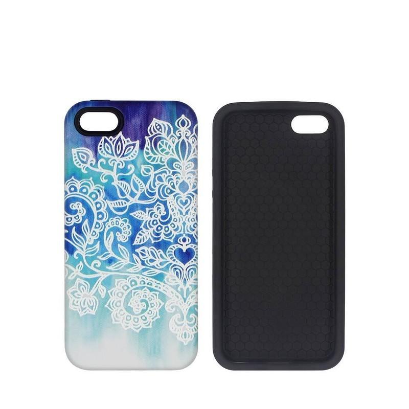 Fundas para iPhone 5 con parte superior bonita en relieve