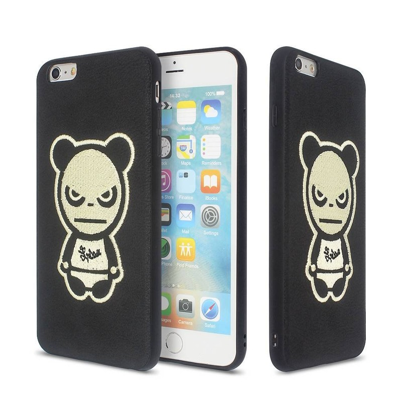 iPhone 6 Plus Phone Case with Embroidery Cartoon Artwork