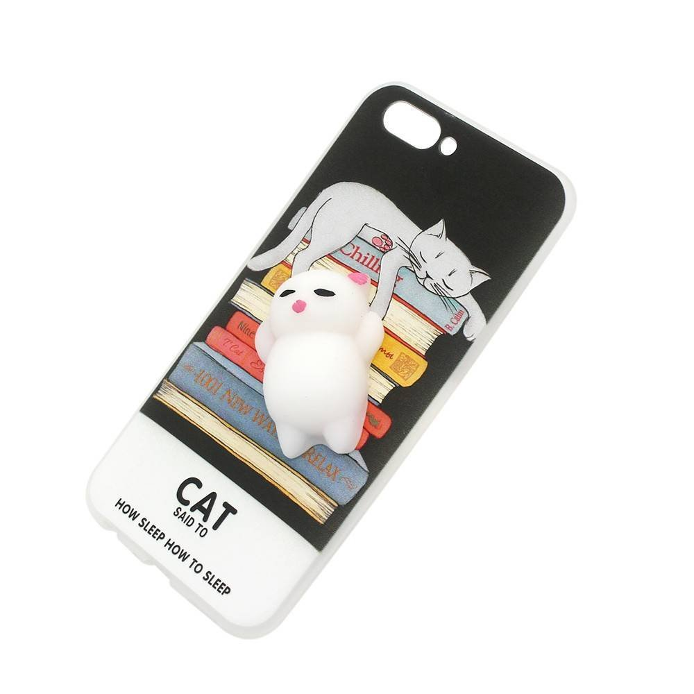 Cute OPPO R11 Phone Case Stuck with Soft Doll for Wholesale