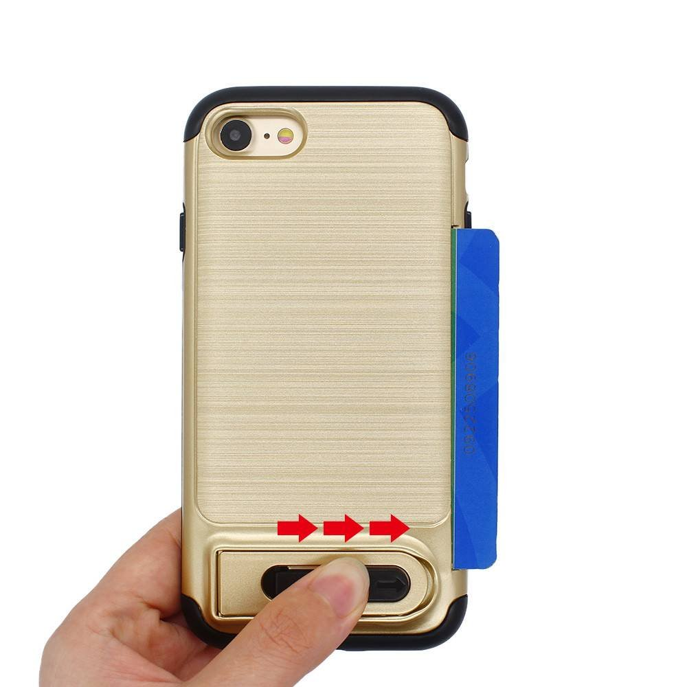 iPhone Seven Cases with Card Holders and Kickstands