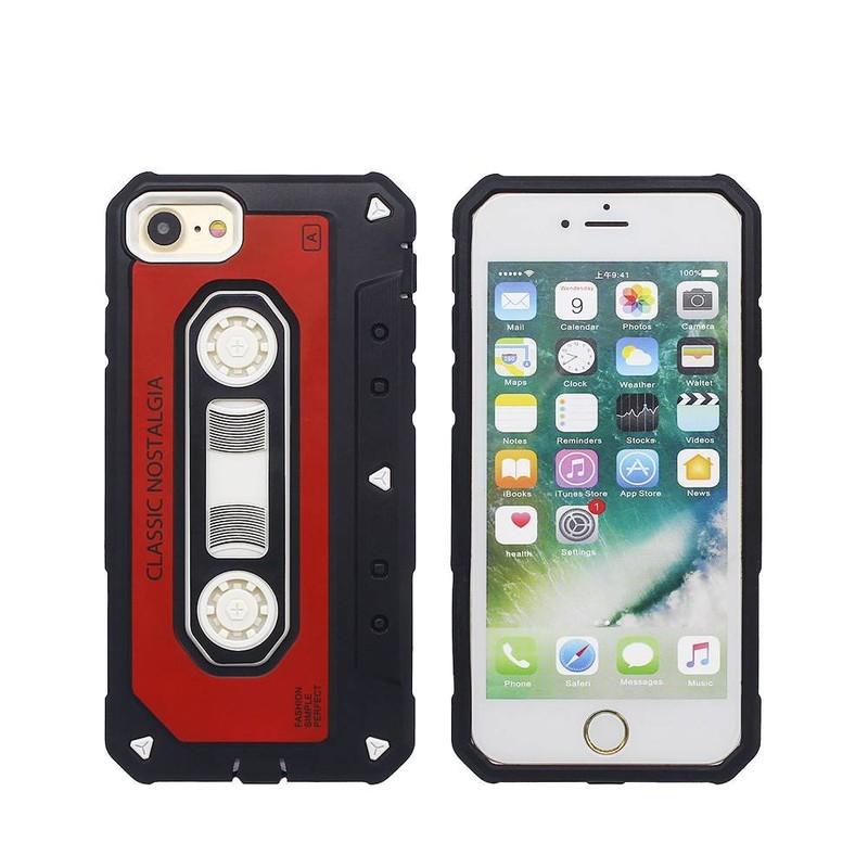 Funda retra iPhone 7 en diseño de cinta para venta por mayor