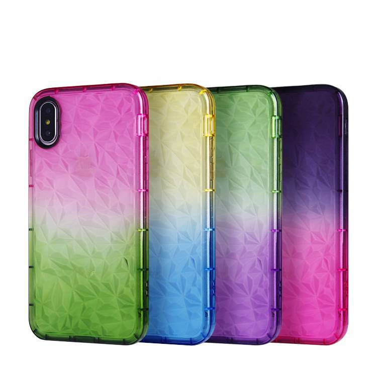Gradient Color TPU Case for IPhone X/XS/XS MAS Wholesale